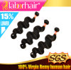 7A  Virgin 100% Peruvian Body Wave Remy Human Hair Extensions in 24 ''