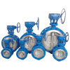 ギヤOperated Wcb Flanged Butterfly Valve 150lb