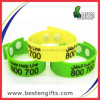 Plus nouveau Fashion Colorfill Children Silicone Bracelet avec Button (SW00012)