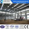 El almacén prefabricado/la fábrica de la estructura de acero/vertió coste de construcción con la grúa