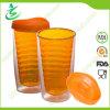Vaso BPA-Libre del agua de la paja de la pared doble de 16 onzas (TB-A3)