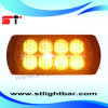 Amber 8-LED 1W Light Head Surface Mount LED (LH08T)