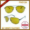 Óculos de sol de FM3124 Pilot com visão noturna Lens (China Wholesale Factory)