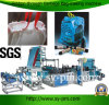 중국 Microcomputer Fully Automatic Plastic 리본 Through Garbage Bag Making Machine에 있는 플라스틱 Bag Making Machine