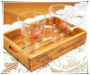 Exhibition를 위한 도매 Lacquered Wooden Display Tray