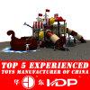 2014屋外のPlayground TypeおよびPlastic Material Kids Play Equipment (HD14-095A)