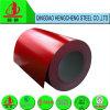 as bobinas da cor vermelha PPGI de 0.5mm Prepainted a bobina de aço galvanizada