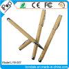 Crayon lecteur duel d'aiguille en métal de pointe en bois pour le matériel de panneau de contact