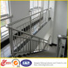 Pasamano del hierro del diseño popular/carril de interior de la escalera/barandilla inoxidable de Steelstair