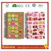 Caderno do papel dos artigos de papelaria da escola para o estudante