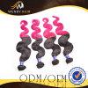 Ombre 색깔 Malaysian 머리 길쌈