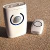 Function multiplo 4 in 1 Wireless Doorbell con Burglar Alarm & Induction Nightlight Functions