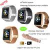 SIMのカードスロットが付いているMtk6261 Bluetoothのスマートな腕時計