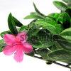 녹색 인공적인 플라스틱 잎 산울타리 인공적인 담 매트