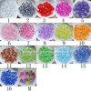 Серии освобождают акриловые граненные ювелирные изделия шариков прокладки Bicone кристаллический находя 4-20mm