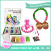 Einfaches DIY Geschenksicheres spinnendes Knit-Wolle-Spielzeug