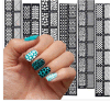 Стикеры ногтя стикеров искусствоа ногтя воды этикеты способа
