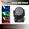 36X10W Equipamento de DJ com Auto Zoom LED Moving Head