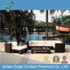 El sofá de aluminio del Poolside de los muebles de la rota del PE fijó (S0048)