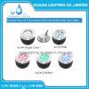 Rgb-ändernde Farbe/einzelnes vertieftes Unterwasser-LED Licht der Farben-18watt