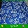 Tissu estampé par couleur bleue pour le tissu de vêtements de bain