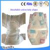 Les couches-culottes respirables de bébé de qualité avec la magie enregistre l'approvisionnement sur bande d'usine