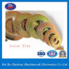 Dacromet/zinc de couleur/acier inoxydable Nfe25511 choisissent la rondelle de freinage latérale de dent