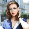 Het Optische Frame van de manier Dame Eyeglass Frame New Design Acetaat Met de hand gemaakte Eyewear