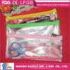 Sacola de lápis de plástico PVC de alta qualidade para estudantes