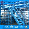 Lager-Speicher-multi waagerecht ausgerichtete Stahlmezzanin-Zahnstange