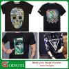 Qingyi 고품질 t-셔츠 열 압박 스티커