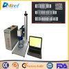 машина маркировки лазера волокна 30W для кода штриховой маркировки, Кодего Qr