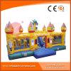 コンボ障害スライドが付いている巨大な商業膨脹可能なドラゴンの城(T6-050B)