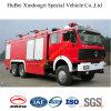 12ton Vrachtwagen Euro3 van de Brand van het Schuim van Benz van het noorden de Tedere