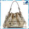 Bolsa de prata das mulheres da forma com sacos do Um-Ombro
