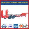 Semi Aanhangwagen van de Vrachtwagen van Lowboy van het Bed van de Fabrikant van China de Verlengbare Op zwaar werk berekende Lage (ton 50-80)
