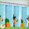 Pattern colorati del fumetto di colore Tenda impermeabile dell'acquazzone del bagno