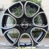 A liga 4*100 roda as bordas de alumínio da roda da borda do carro 15*6j