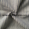 Tecido tingido de algodão / linho / tecido polido misturado (QF13-0748)