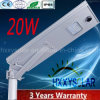 LED-integriertes Solarstraßenlaterne20W mit 3 Jahren Garantie-