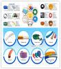 2  (ID50mm) PVC 플라스틱 고압 물 공급 또는 농업 관개 관