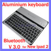 Bluetooth en aluminium 3.0 Stand Wireless Keyboard pour l'iPad 5