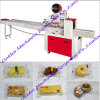 Les biscuits de biscuit de prix usine coulent machine d'emballage de paquet