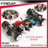 Coche de la deriva del coche modelo 4WD RC del juguete RC de Shenzhen