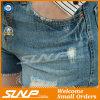 2016 Großhandelskleid-Jeans schließen Denim-kurze Kleidung kurz