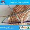 Cabo distribuidor de corrente transparente Ningbo/Shanghaii do cabo do altofalante do fio de cobre