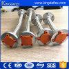 Grand ensemble de tuyau tressé de teflon de fil d'acier de diamètre avec le tube de PTFE