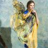 Sjaals van de Stijl van de herfst verlengen de Nieuwe Originele Klassieke Dame Silk Scarf 175*110cm (YJBS0009)
