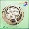 316 indicatore luminoso marino del crogiolo di acciaio inossidabile 9*3W LED
