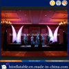 De verbazende Decoratie die van de Ontwerpfase Opblaasbare Slagtand Nr aansteken. A008 met LED Light voor Event Decoration